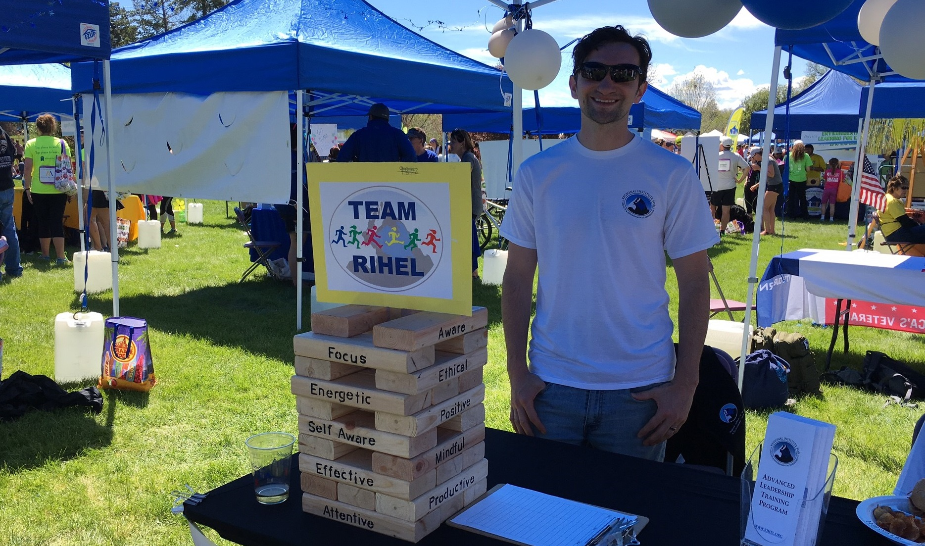 Volunteer for Team RIHEL