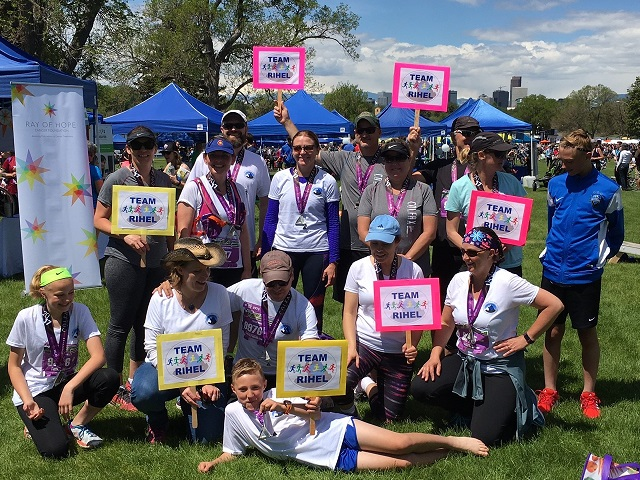 INSPIRED? Run or Volunteer with Team RIHEL at the Denver Colfax Marathon